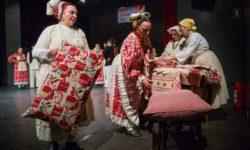 Čevanje perja na Gradskoj smotri folklora