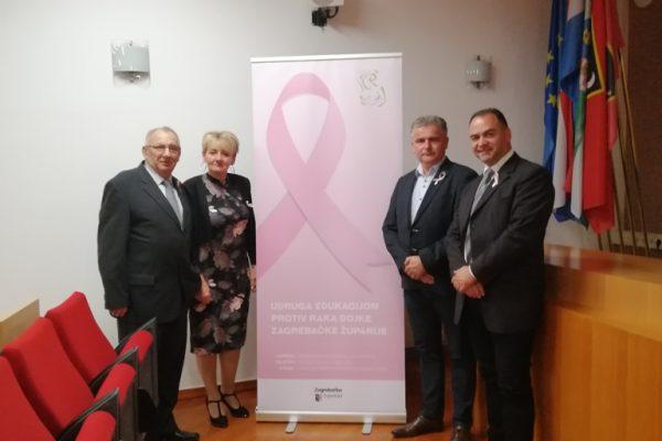 """Tribinom """"Za život"""" obilježen mjesec borbe protiv raka dojke"""